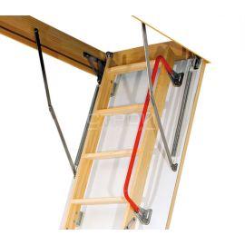 Внешний вид поручня LXH из металла для чердачной лестницы Fakro.