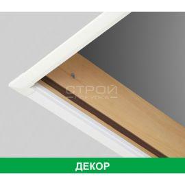 Декоративная планка LXL-PVC установленная в чердачном проеме.
