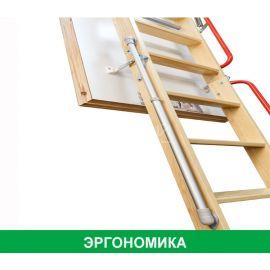 Вспомогательный механизм LXM-3 обеспечит плавное движение сегментов лестницы Fakro.