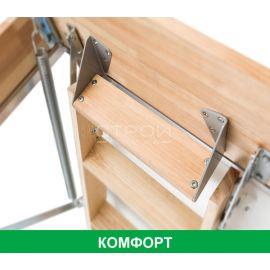 Дополнительная ступень LXT для высокого чердачного проема при установке чердачной лестницы Fakro.