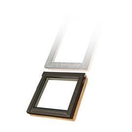 Нижнее мансардное окно FDY-V U3 может поставляться отдельно. ПО желанию открывается вверх или вниз или может быть глухим.