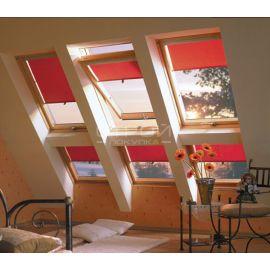 Установленные рядом 2 или 3 двойных мансардных окна FDY-V U3 красиво вписываются в интерьер.