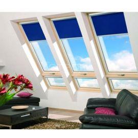 Двойные мансардные окна FDY-V U3 могут оборудоваться рулонными шторами.