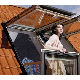Впечатление свободного полета с открытым окном балконом трансформер FGH-V.