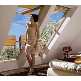 Отличная естественная вентиляция с открытым окном балконом трансформер FGH-V.