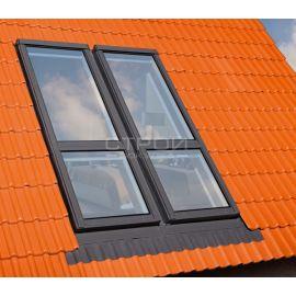 Теплоизоляция и шумоподавление с окнами-балкон трансформер FGH-V.
