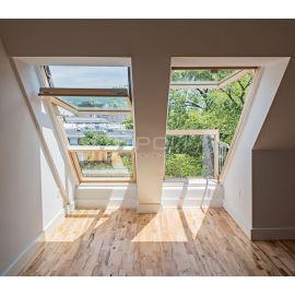 Максимальное естественное освещение через окна балкон трансформер FGH-V.