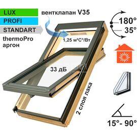 Двухкамерные мансардные окна класса LUX, PROFI и STANDART: FTS-V U4, FTP-V U4, FTP-V U5 Thermo, FTU-V U5 Thermo, PTP U4, PTP-V U4, PTP-V U5,  FTT U6 Thermo.