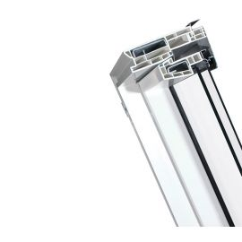 Зонирование, утепление, усиление рамы мансардного окна PTP U3.
