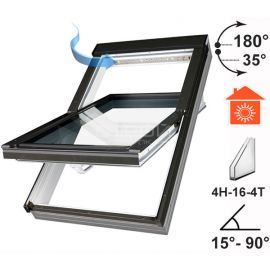 Мансардное окно PTP U3, для установки в помещениях с избыточной влажностью.