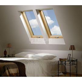 Возможность вентиляции помещения без открытия  двухкамерного мансардного окна FTS-V U4, FTP-V U4, FTP-V U5 Thermo, FTU-V U5 Thermo, PTP U4, PTP-V U4, PTP-V U5.