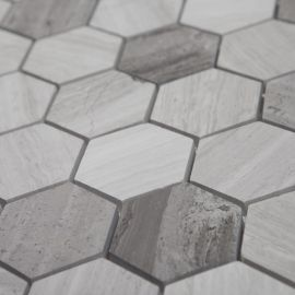 Мозаика SHG11488P (48х48) 305*300*8 мм из камня сотами Imagine lab