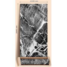 Дымчатый кварц камень - мраморные обои для дома и фасада дома.