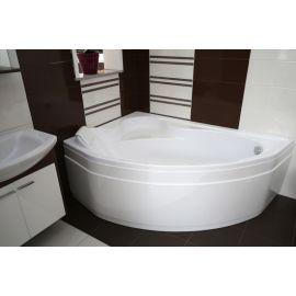 Угловая ванна с подголовником Delfina Besco из акрила.