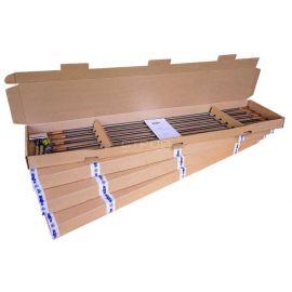 Комплект заземления из стали 30м поставляется в 4-х коробках.