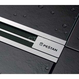 Металлическая декоративная накладка трапа Confluo Premium Slim Line.