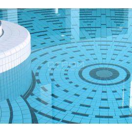 Плитка 781 Variocolor 244x119x7.5 мм в чаше бассейна