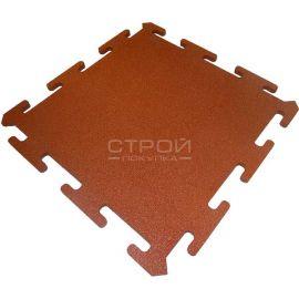 Оранжевая плитка Puzzle Standart из резиновой крошки
