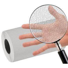 Невидимая клейкая лента NS5100 под увеличительным стеклом