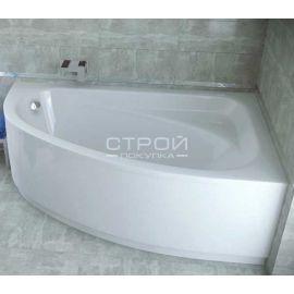 Ванна с скругленным углом Cornea Besco с правосторонней ориентацией.