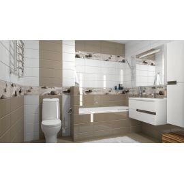Плитка Концепт 2П 40х40 в интерьере ванной комнаты.