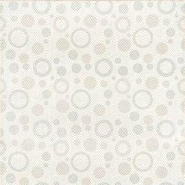 Напольная плитка Диско 7П 40х40 белого цвета