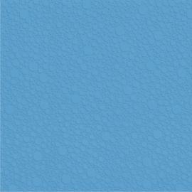 Напольная плитка Вэйв 2П 40х40 синего цвета