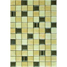 Аксель 3 бежевый микс 27,5х40 настенная плитка