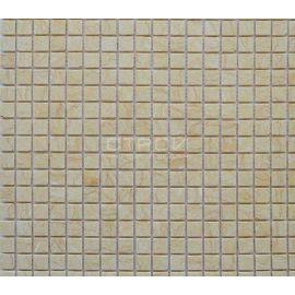 KG-15P мозаика каменная  светло-желтая
