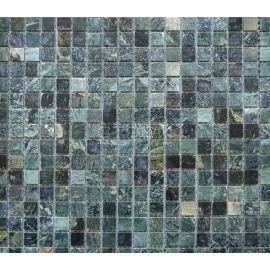 Мозаика из зеленого камня