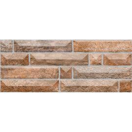 Настенная плитка Вавилон 4 коричневый