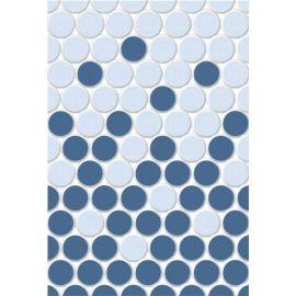 Блэйз 2 микс 27,5х40 настенная плитка серо-голубого цвета