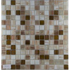 Светло-коричневый мозаичный микс для бассейна