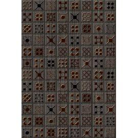 Калипсо 3 Панно 27,5х40 декор настенный коричневого цвета под мозаику
