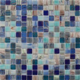 JS05 сине-голубой микс с белым цветом