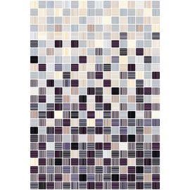 Гламур 4С 27,5х40 настенная плитка микс бежевого и ежевичного цвета