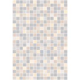 Гламур 7С 27,5х40 настенная плитка микс из бежево-ежевичного цвета