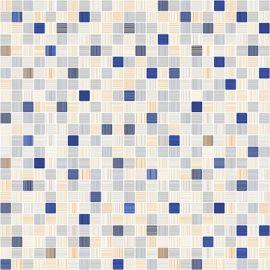 Напольная плитка Гламур 7П 40х40 имитирующую мозаику