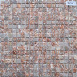 Мозаика под мрамор из натурального камня KG-38P