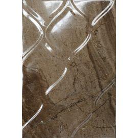 Мокка 3Т 27,5х40 настенная плитка коричневого цвета