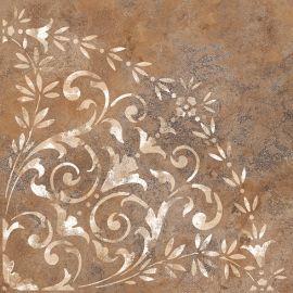 Монреаль 4Д 50х50 напольная плитка терракотового цвета