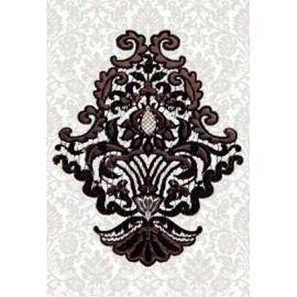 Органза 5 27,5х40 декор настенный черного цвета