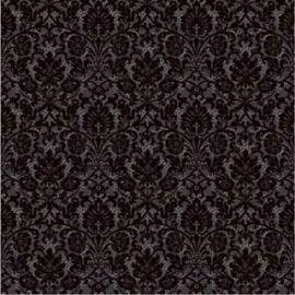 Напольная плитка Органза 5П 40х40 черного цвета