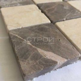 Каменная мозаика под мрамор