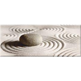 Концепт 7К тип-1 20х50 декор настенный светло-коричневого цвета с камнем на песке