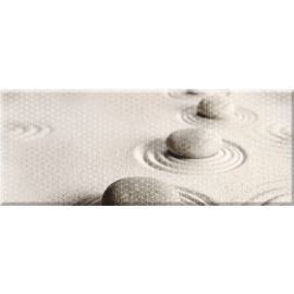 Концепт 7К тип-3 20х50 декор настенный светло-коричневого цвета с камнями на песке