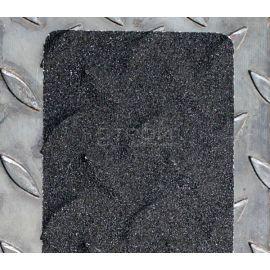 Черная противоскользящая алюминиевая накладная полоса