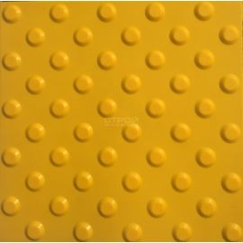 Тактильная плитка ПУ конусы, 30х30 см