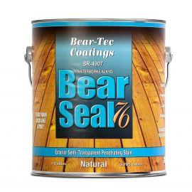 Полупрозрачная масло-пропитка по дереву Bear Seal 76