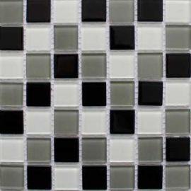 Черно-белый микс мозаики